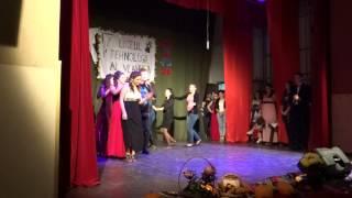 LTAV Sendriceni Balul Bobocilor 2014 - Aurel Moldoveanu - Fata primarului