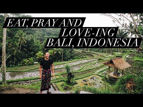 EAT, PRAY AND LOVE-ING BALI, INDONESIAI | Vlog #22