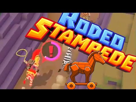 Rodeo Stampede - TROJAN Horse Quest!