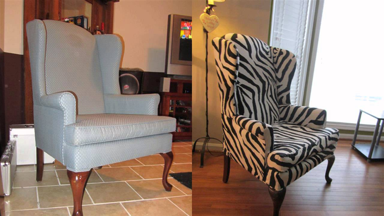 High Quality DIY: Wing Back Chair   YouTube