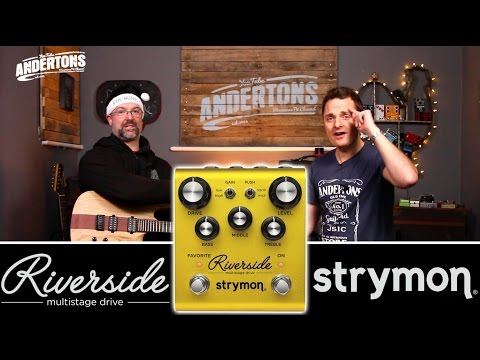 Strymon Riverside Overdrive Pedal Demo - It's Very Clever!!