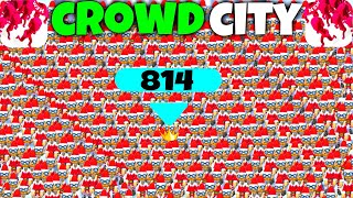 CROWD CITY - HIGHSCORE WITH CHRISTMAS ELVES SKIN - EPIC GAMEPLAY (HD)
