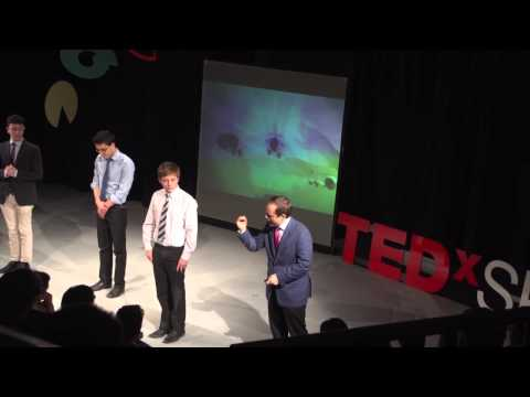 Break On Through: Dr Thomas Weller at TEDxSPS