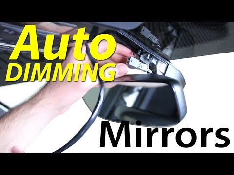 MK7 Auto Dimming Homelink Rear View Mirror DIY
