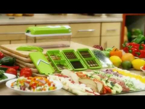Nicer Dicer Plus Recipe Book