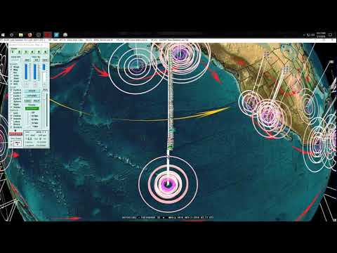 5/01/2018 -- Multiple M5.0+ earthquakes strike across Pacific -- Deep EQ event PAY ATTENTION PLEASE - 동영상