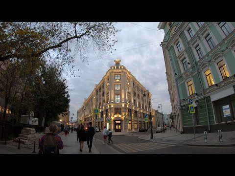 ⁴ᴷ⁵⁰ Walking Moscow: