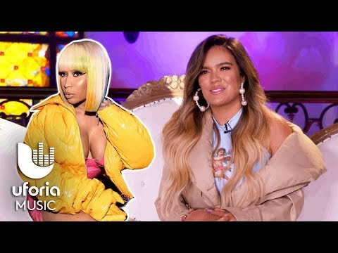 "Karol G Conquista El Mundo Anglo Con Su Tema ""Tusa"" Junto Nicki Minaj | Uforia"