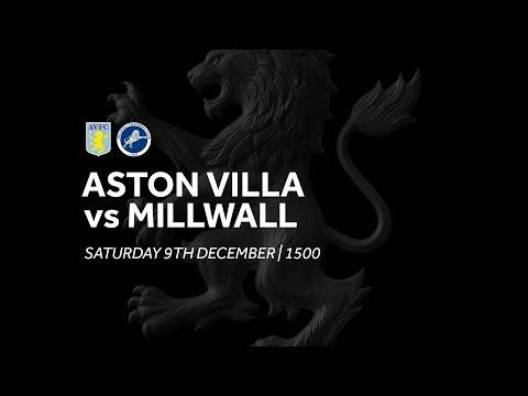 Aston Villa 0-0 Millwall | Extended highlights