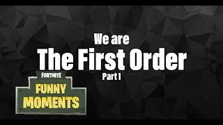 Fortnite Funny moments the first order pt1 ( with ZJ, Getting hooked downunder and myeyesopen)
