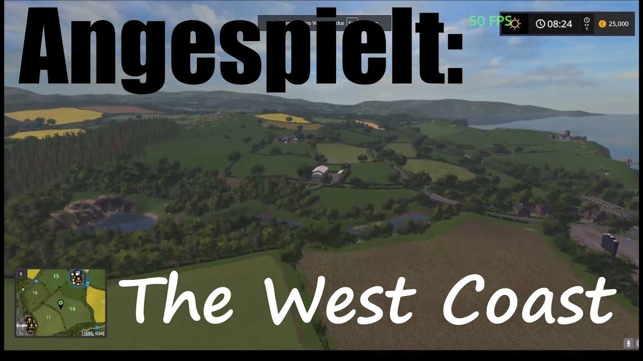 LS17 Angespielt: The West Coast | Map