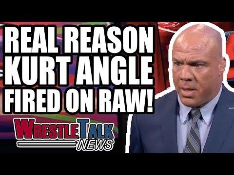 Shinsuke Nakamura On New Japan RETURN! Why Kurt Angle FIRED On WWE Raw! | WrestleTalk News Aug. 2018