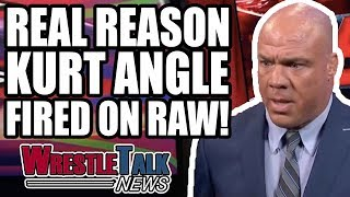 Shinsuke Nakamura On New Japan RETURN! Why Kurt Angle FIRED On WWE Raw!   WrestleTalk News Aug. 2018