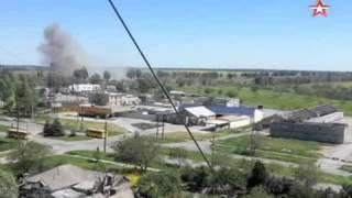 Мощнейший взрыв произошел на блокпосту в Мариуполе