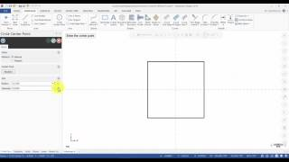 Mastercam 2018 Mill Essentials Tutorial 1 - Geometry Creation