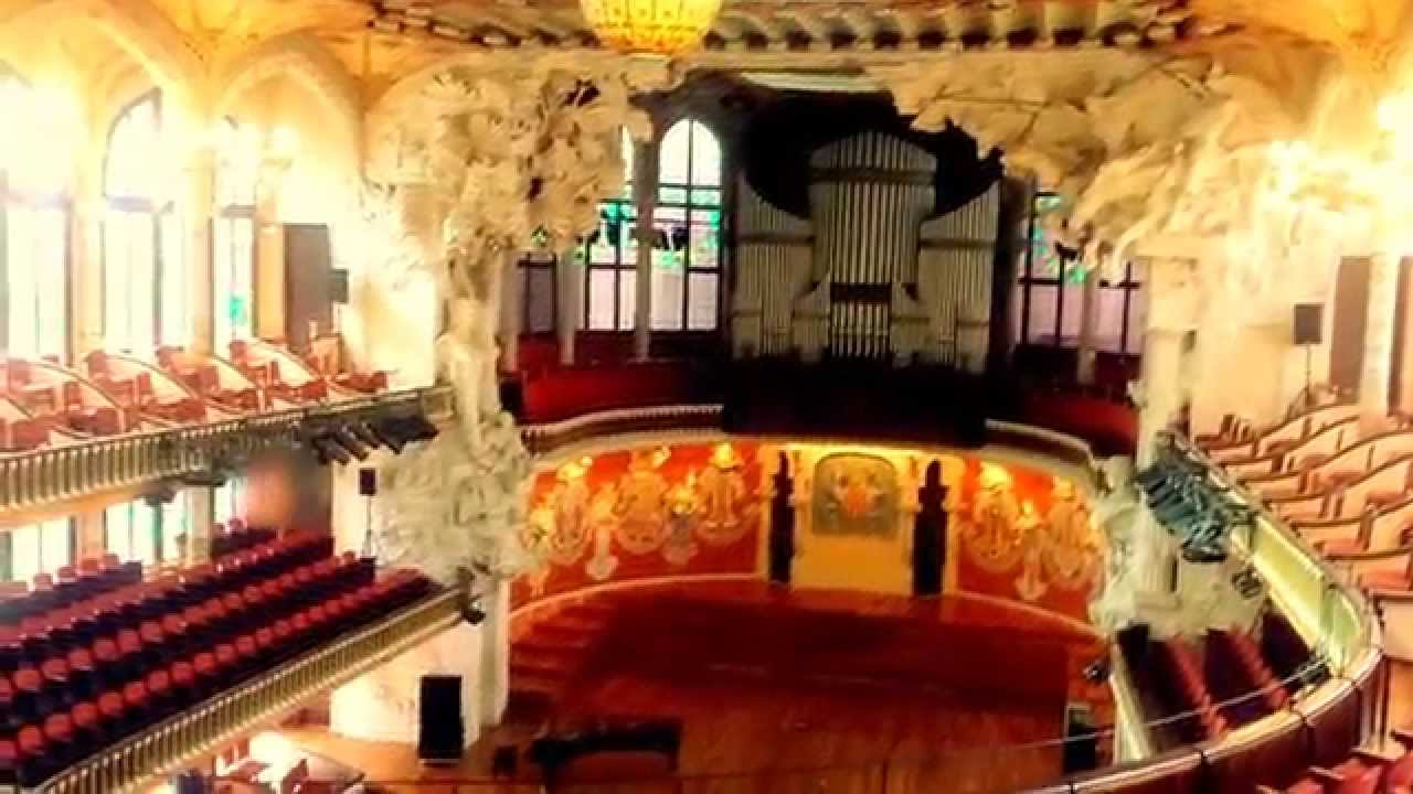 2015 05 02 Palau De La Música Catalana Barcelona Organ Practice Youtube
