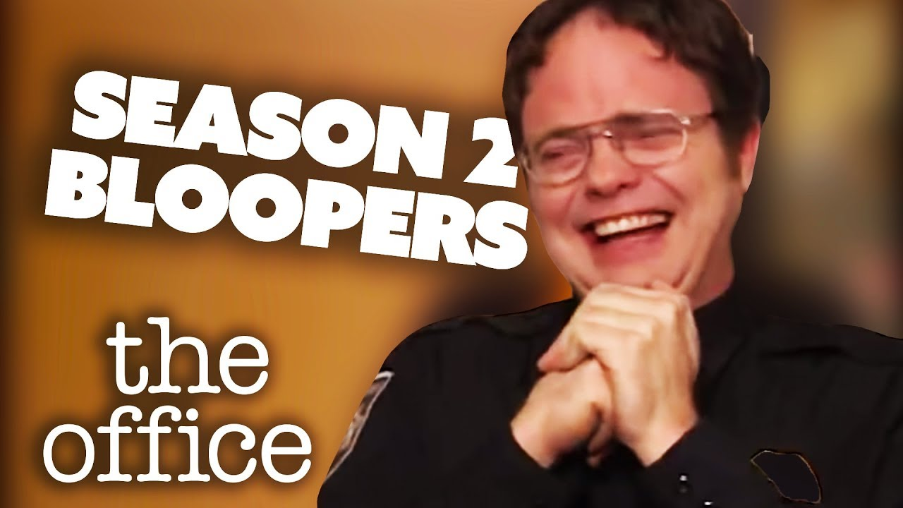 Season 2 Bloopers - The Office US | Comedy Bites