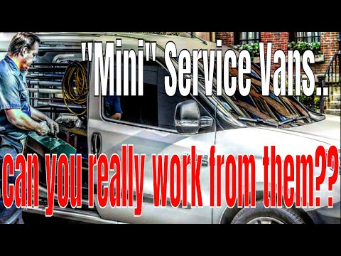 """""""Mini HVAC Service Vans""""…can you really work out of them??🤔🤔"""