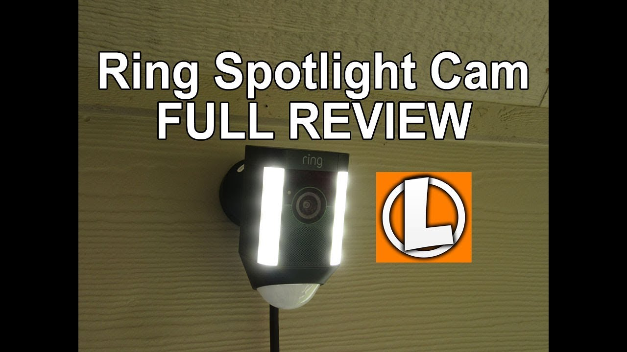 Ring Spotlight Camera Review Unboxing Features Setup