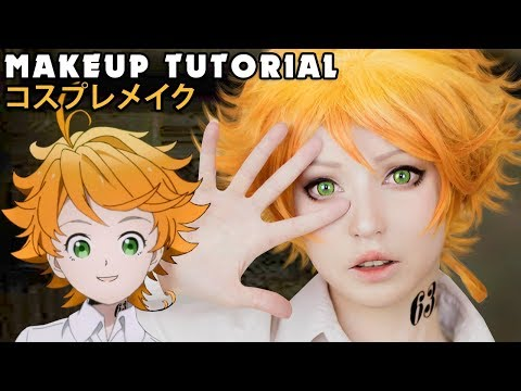 ☆ Emma Cosplay Makeup Tutorial The Promised Neverland 約束のネバーランド   コスプレメイク ☆