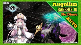 EPIC SEVEN Banshee 10 Auto [Angelica Silk Cidd Kise] Gameplay Review Epic 7 Team Thoughts (No Diene)