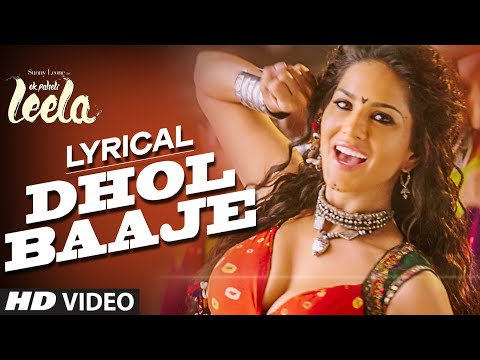 'Dhol Baaje' Full Song with LYRICS | Sunny Leone | Meet Bros Anjjan ft. Monali Thakur