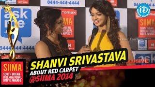 Actress Shanvi Srivastava about her Beauty @ SIIMA 2014, Malaysia
