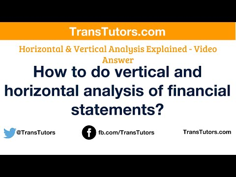horizontal and vertical analysis from macy's The main advantages of vertical analysis is the method of vertical analysis can also be contrasted with horizontal analysis, which uses one year's worth of.