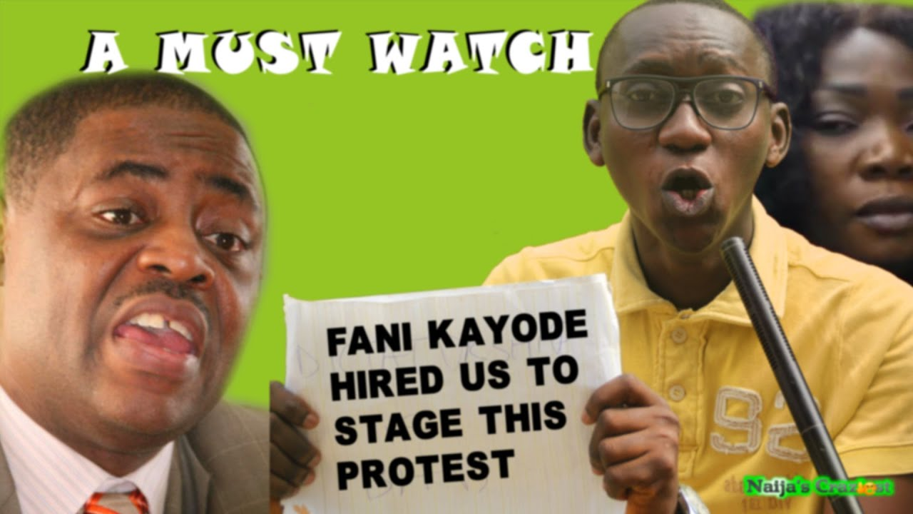 Download Fani Kayode Hired Us to Stage Anti-Buhari Protest at Chatham House But We Forgot to Get Details.