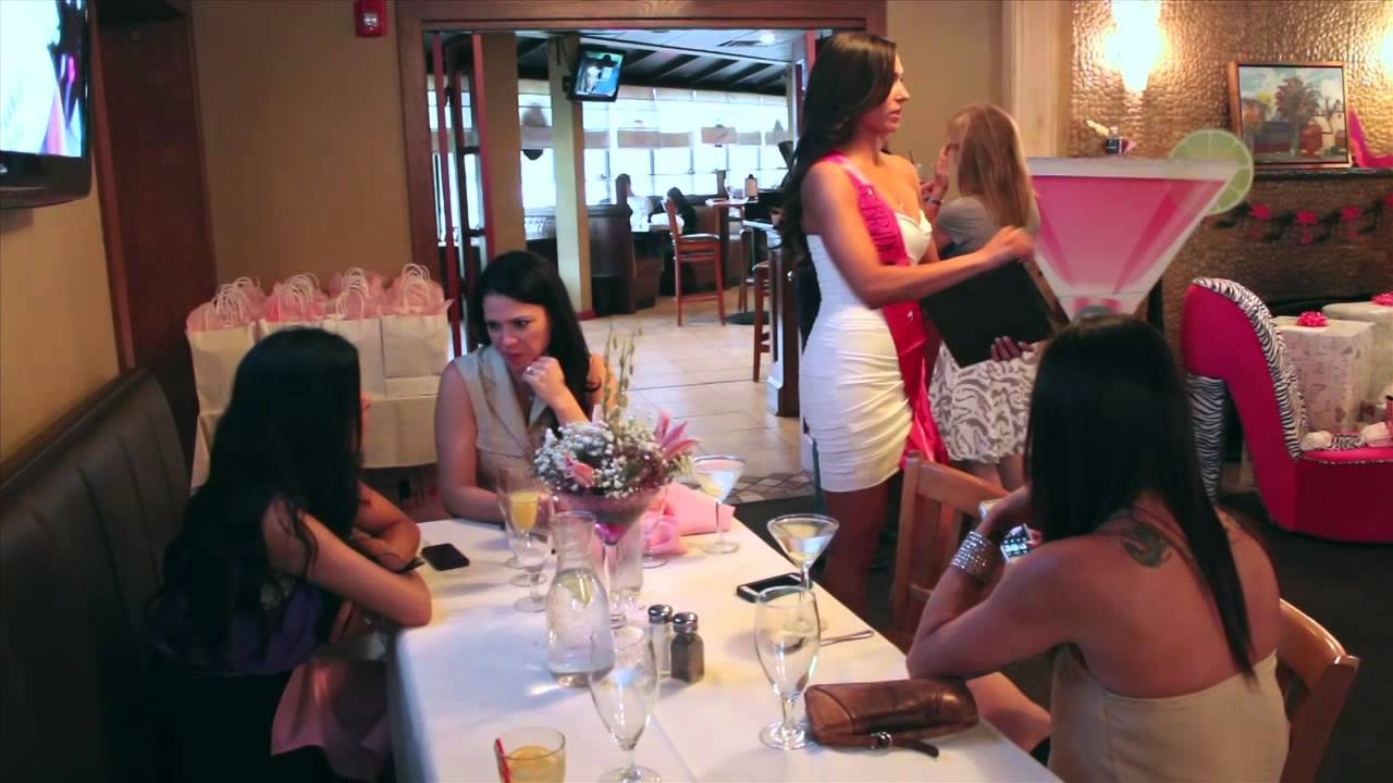 kristins bridal shower at rellas resturant