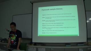 How to custom our owen plymouth theme - Zhao Qiang - FOSSASIA Summit 2017