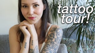 The Woman With The Cat Tattoo (that's me!) | Tattoo Tour