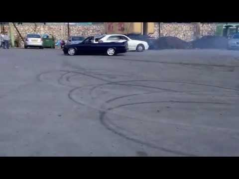Crazy drifting in Palestine with BMW car !