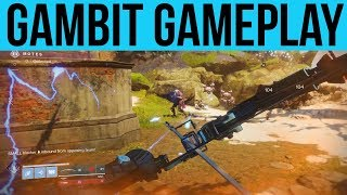 "Destiny 2 Forsaken DLC: New Game Mode ""Gambit"" Full Gameplay"