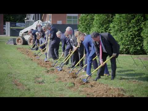James C. and Mary B. Martin Center for the Arts Groundbreaking