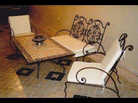 Mesas con azulejos tradicional marroqu youtube - Mesas con azulejos ...