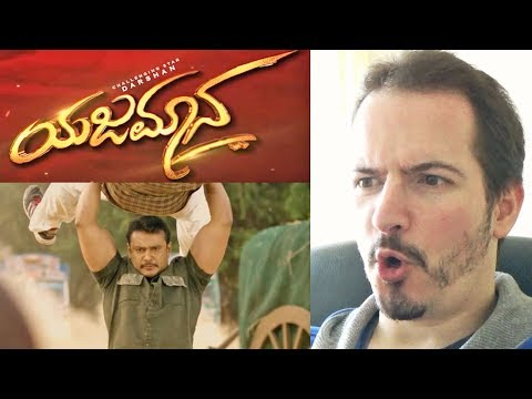 YAJAMANA • THE MASTER - Kannada Official Trailer REACTION + REVIEW