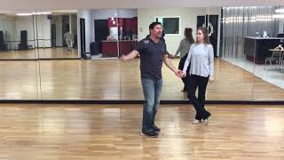 Two Step Lessons online with D'Amico Dance Intermediate Class Recap 2/11/19