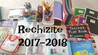 RECHIZITE 2017-2018 ! AN NOU SCOLAR !