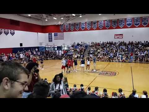 Lake Brantley High School pep rally 2019 to 2020