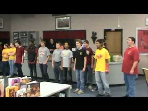 """My Girl"" Performed by the Guys of the Ashley Ridge High School Show Choir"