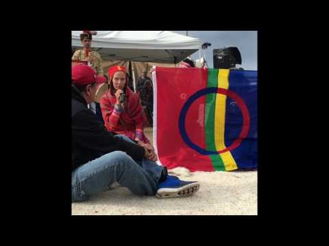Sami Ceremony at Standing Rock