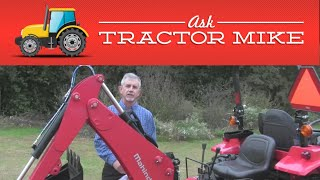 How to Buy a Backhoe for a Tractor