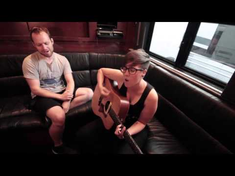 """No Sleep Records' Road Sessions 001 with Allison Weiss ft. Dan """"Soupy"""" Campbell of The Wonder Years"""