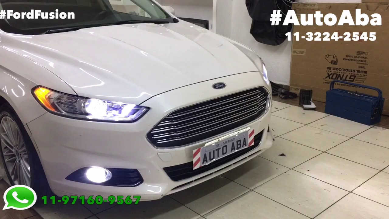 Ford Fusion L 226 Mpadas Super Leds Autoaba Acess 243 Rios Youtube