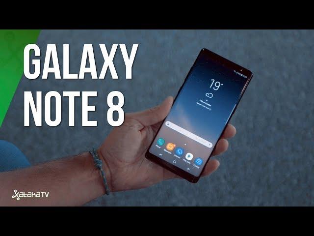 Comparativa Samsung Galaxy Note 8 vs móviles gama alta 2017