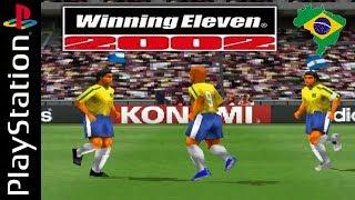 Winning Eleven 2002 - Traduzido em Português - O MELHOR FUTEBOL DE PS1