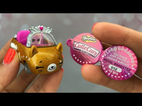 LIMITED EDITION Royal Roadster New Shopkins Cutie Cars Found!!!