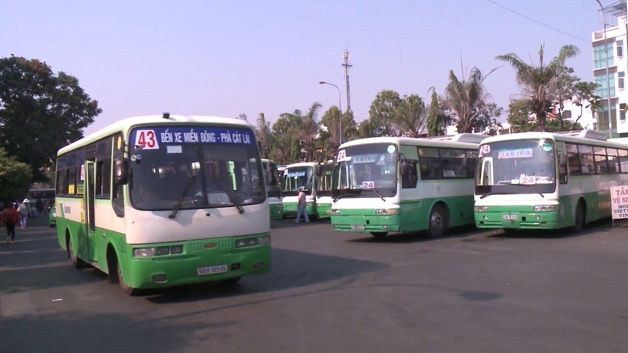 Quảng cáo trên xe bus tại tại thành phố Hồ Chí Minh