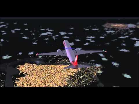 [FS2004] Nova York á São Paulo com Boeing 777-300ER da Tam